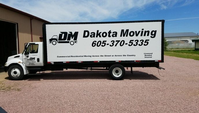 Dakota Moving truck